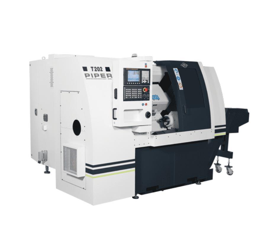 Rais Tornio CNC doppio mandrino T202-2S